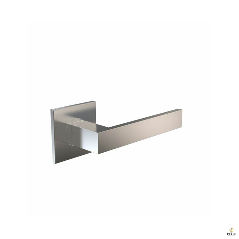 Дверная ручка KUBE 1004 120mm , сатин