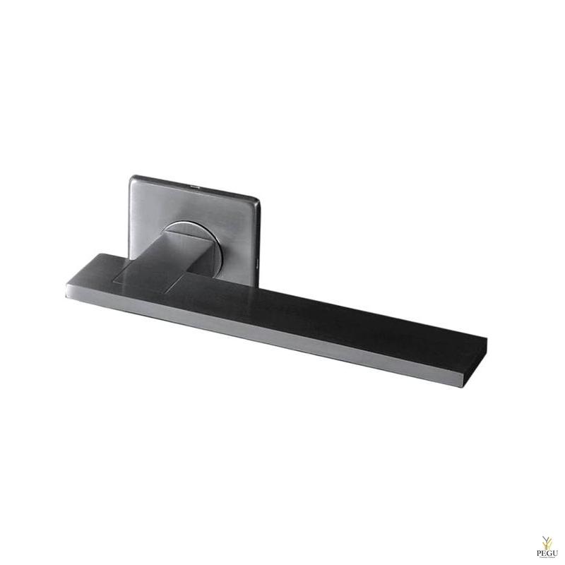 Дверная ручка KUBE 1006 145mm, 6x27mm , нержавеющая сталь сатин