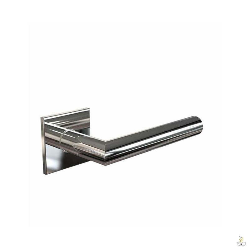 Дверная ручка KUBE 1054 128mm, d19mm , полированная