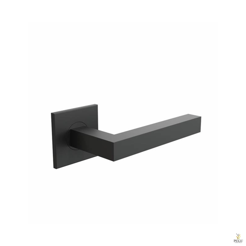 Дверная ручка KUBE 1001 120mm , чёрная