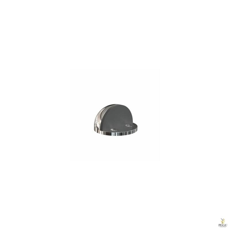Ограничитель для двери Frost DOOR STOP 5051 d45mm Н/Р сталь полированный