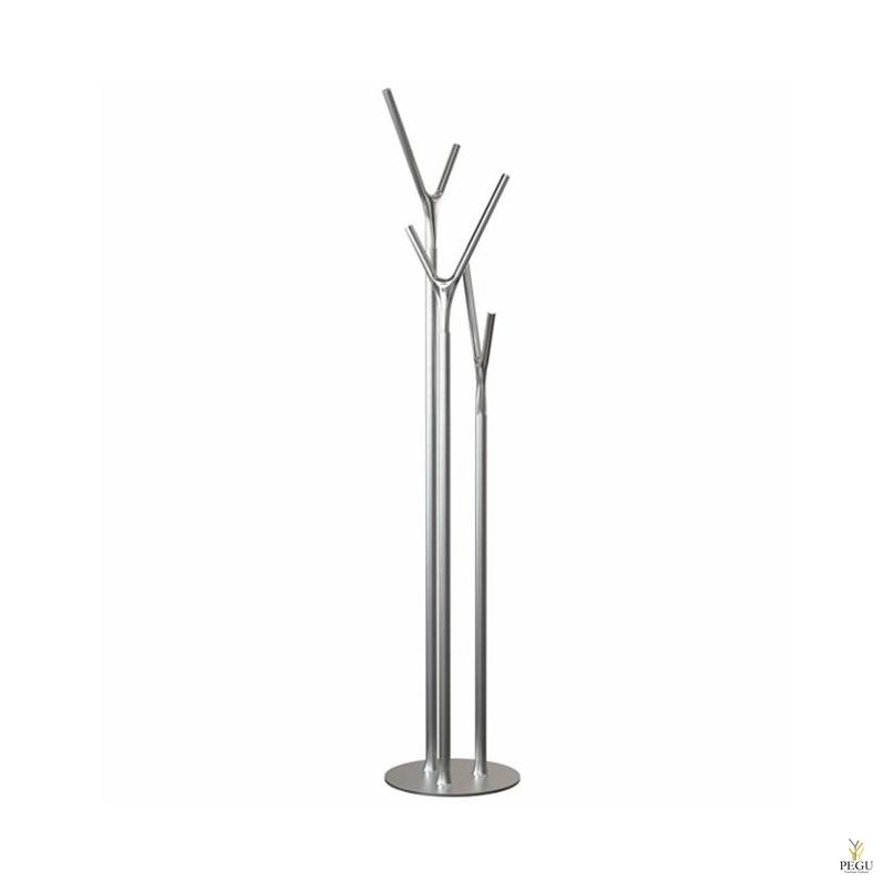 Напольная вешалка Wishbone, сатин-хром