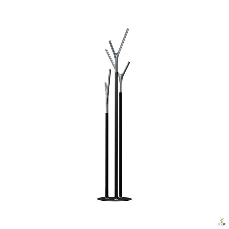 Püstnagi Wishbone, must-kroom