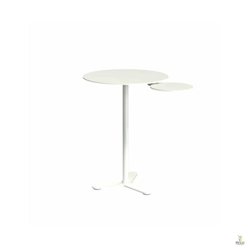 Bukto столик, D475xH650mm, белый