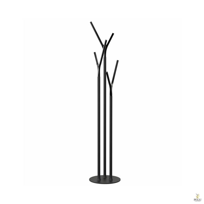 Напольная вешалка Wishbone, чёрный/чёрный