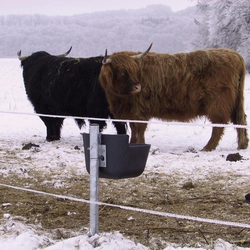 Незамерзающая автоматическая поилка для лошадей и коров d40cm