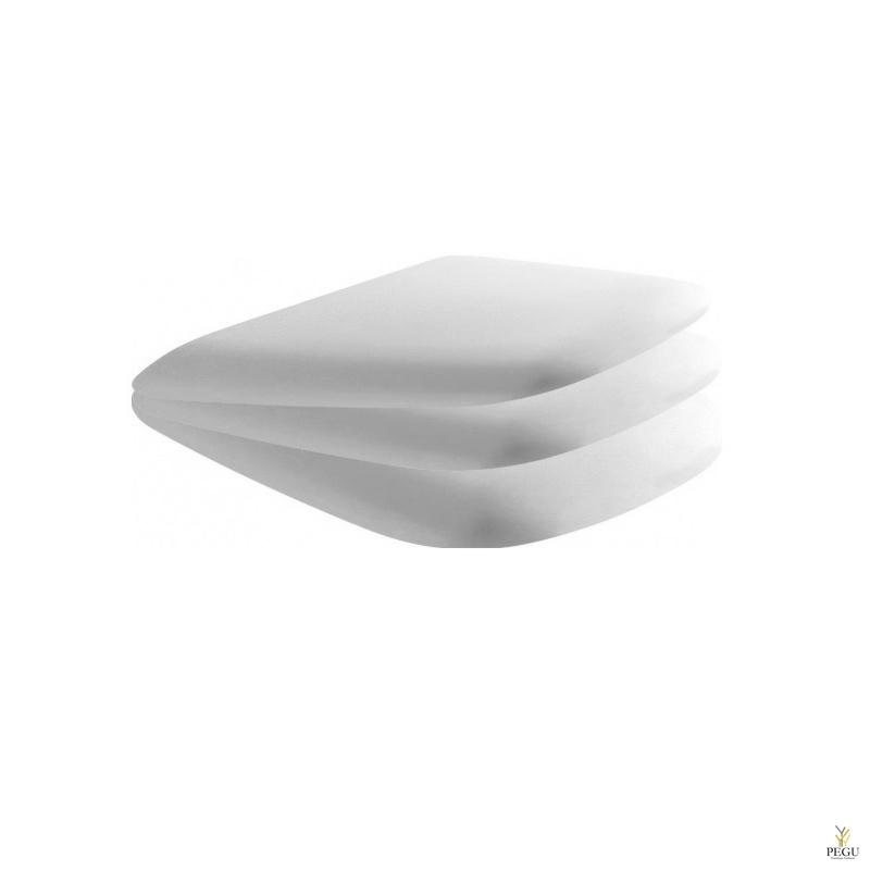 Globo Genesis WC poti vaikseltsulguv kaas GE020BI, valge