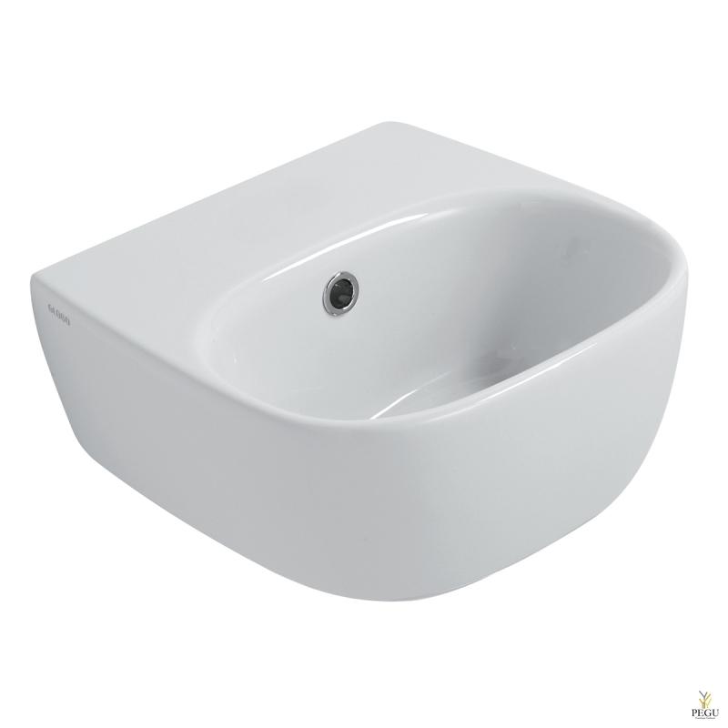 Globo Genesis GE049.BI керамическая раковина 35x35 cm белая