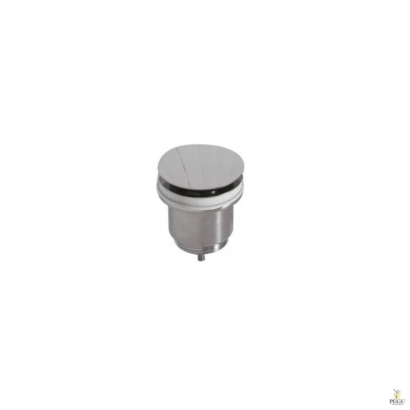 Сливной клапан для раковины с переливом Globo хром