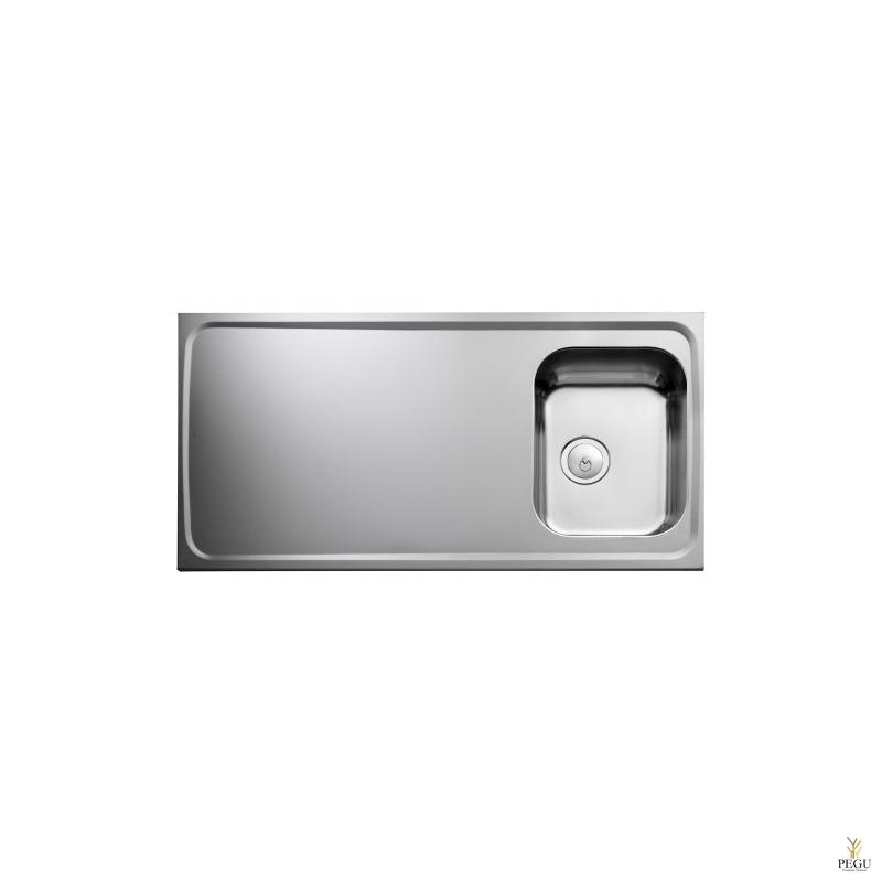 Кухонная мойка Atlantic F12R, с одной раковиной, Распродажа!