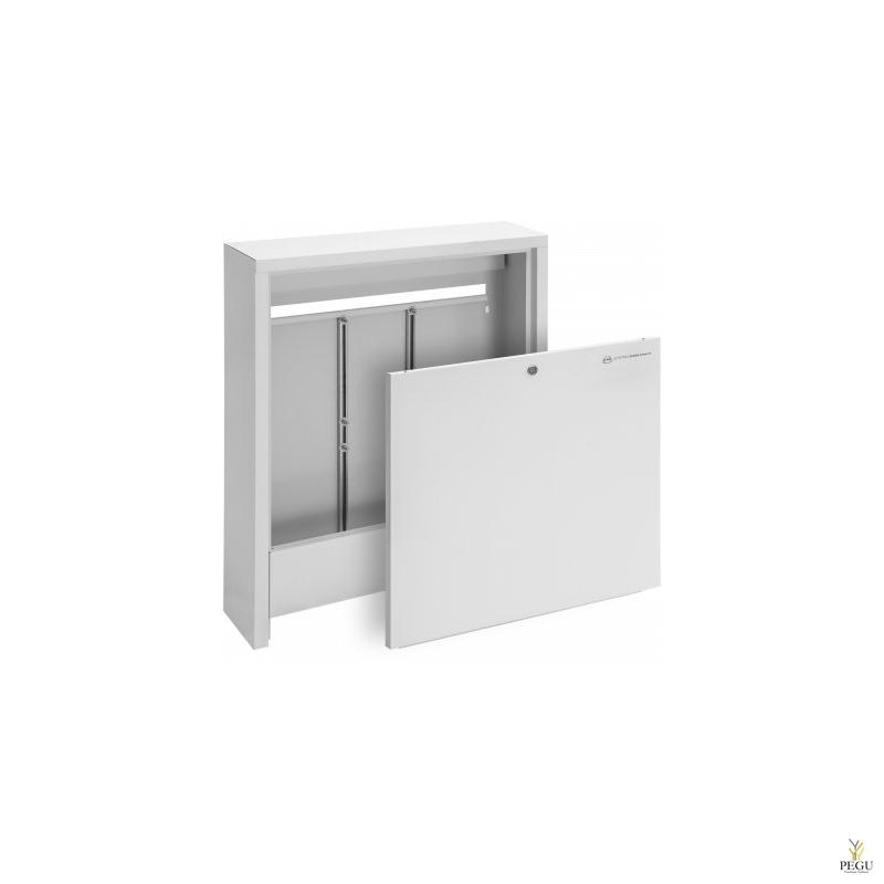 Шкаф для коллектора тёплого пола SWN-OP 10 / 3 настенный K710 / L580 / S140, 2-10 контура