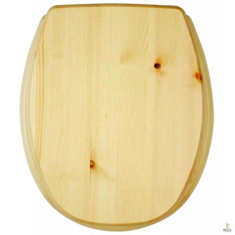 Сиденье для унитаза, Kanwood, натуральная сосна, Распродажа!!!