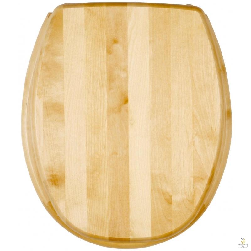 Сиденье для унитаза, Kanwood, натуральная берёза, Распродажа!!!