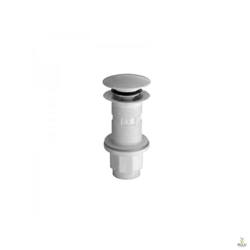 """Донный клапан. U&D. Белый ABS D72mm 1 1/4"""""""