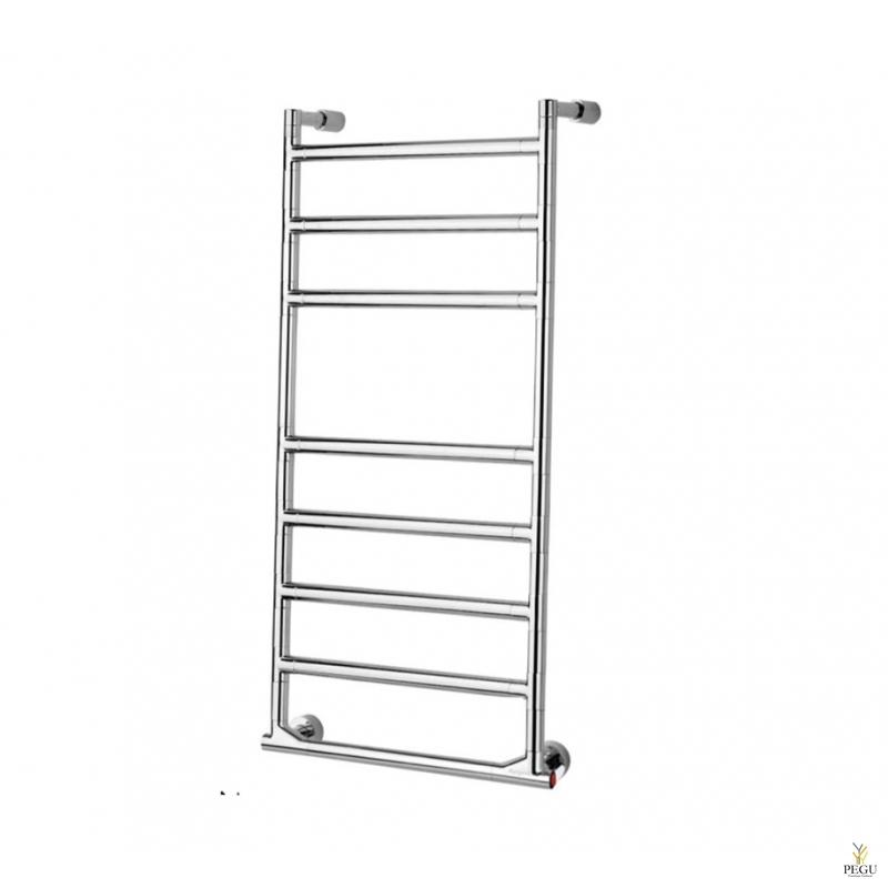Полотенцесушитель лестница электрический Margaroli SERENO 574/8/M хром латунь 905x530 mm