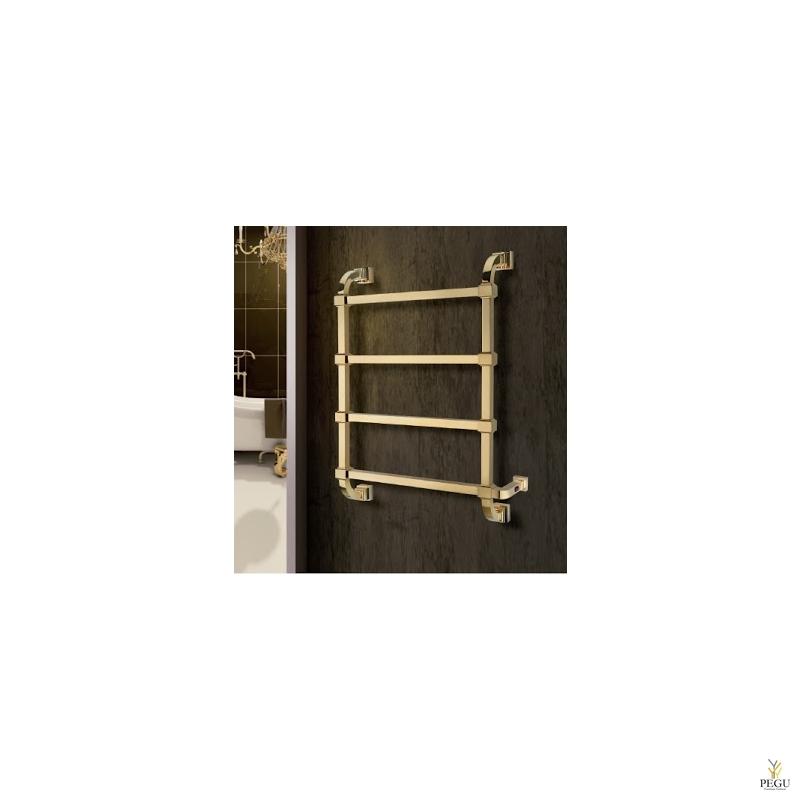 Полотенцесушитель электрический Margaroli CONCERTO 832 золото латунь 810x530 mm