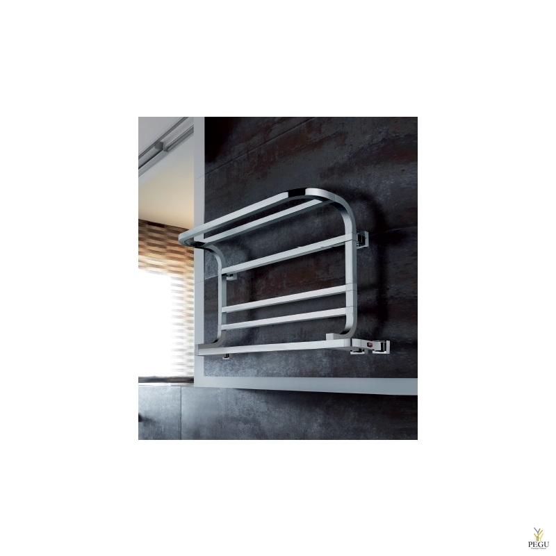 Käterätikuivati elektriline Margaroli PANORAMA 837/L krom messing 540x800 mm