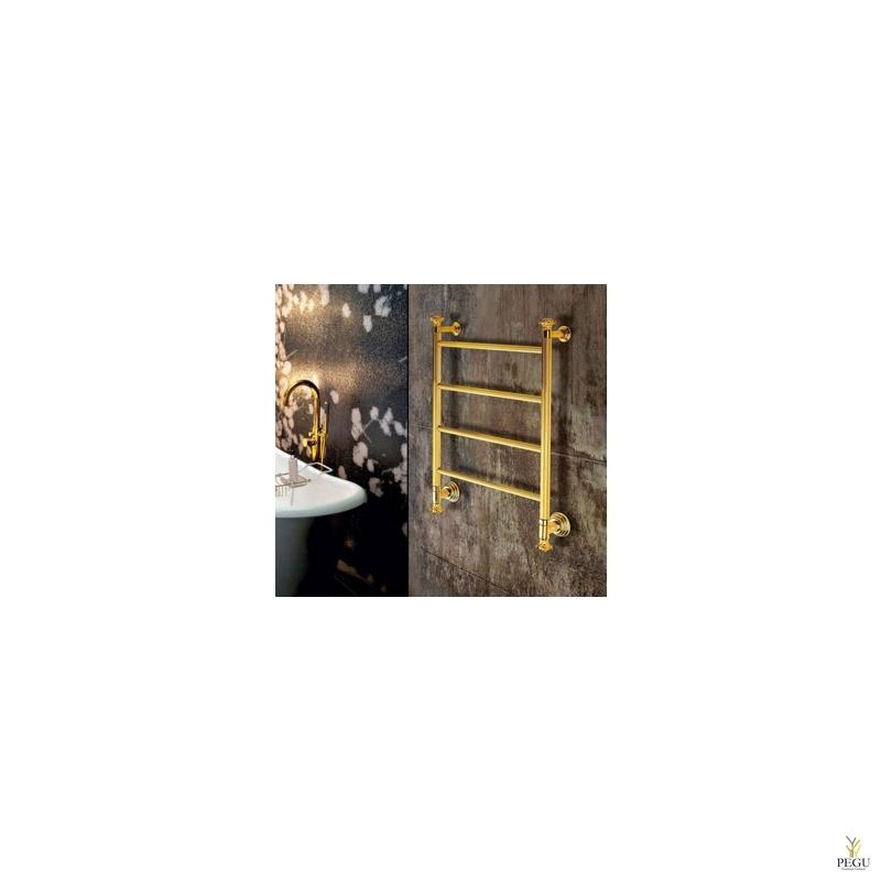 Käterätikuivati  veele Margaroli CAPITELLI 2-442/J kuld messing 530x690 mm