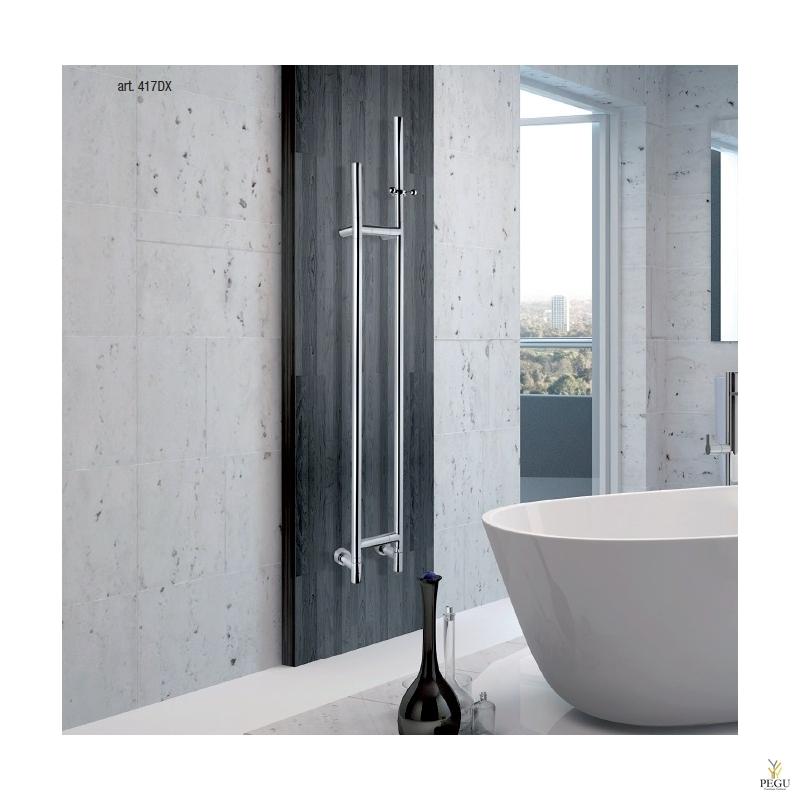 Полотенцесушитель/сушитель для халата водяной Arcobaleno 417DX хром латунь 1537 x 187 mm