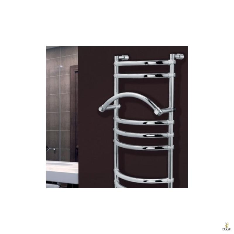Полотенцесушитель водяной Margaroli LUNA 434/M хром латунь 405 x 1075 mm