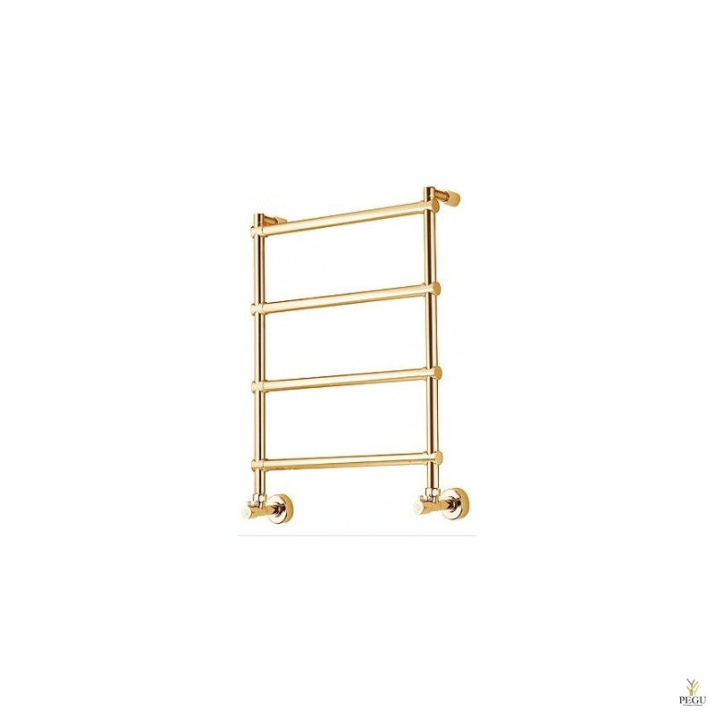 Полотенцесушитель водяной Margaroli SOLE 442 золото латунь 500 × 714 mm