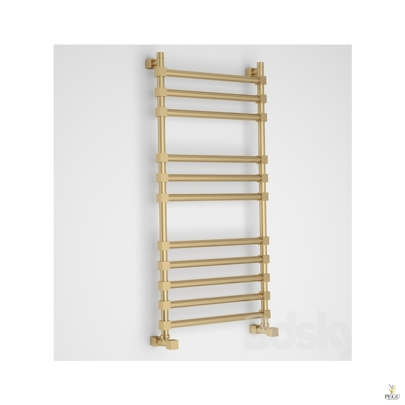 Полотенцесушитель лестница водяной Margaroli SOLE 464/11TQ бронза латунь 390x1072 mm