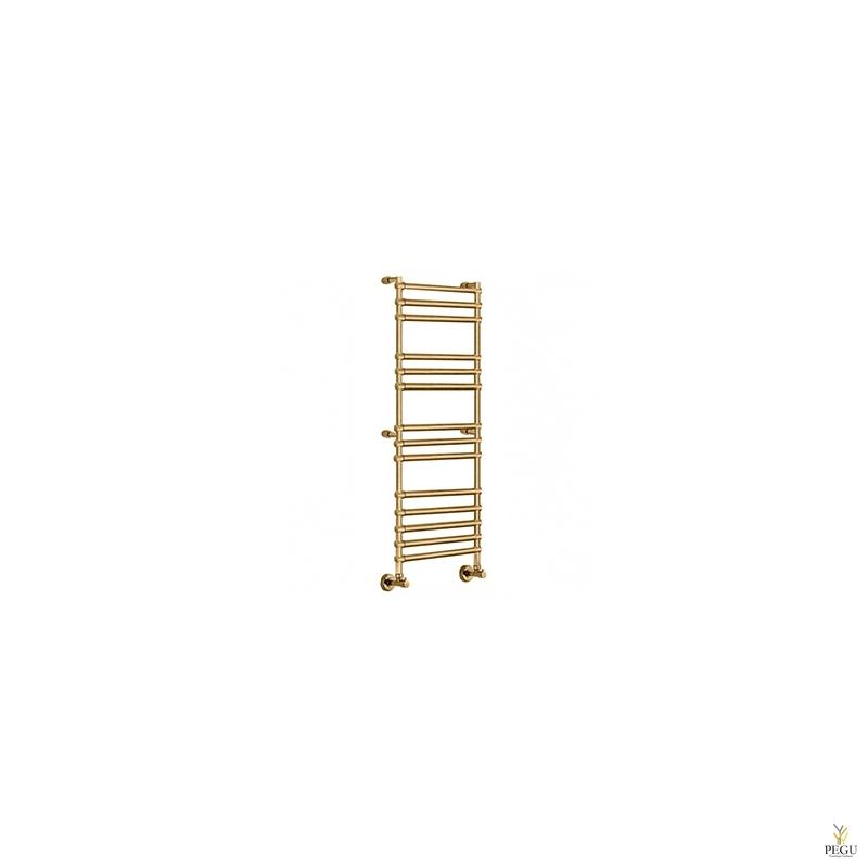 Полотенцесушитель лестница водяной Margaroli SOLE 464/14 бронза латунь 500x1384 mm