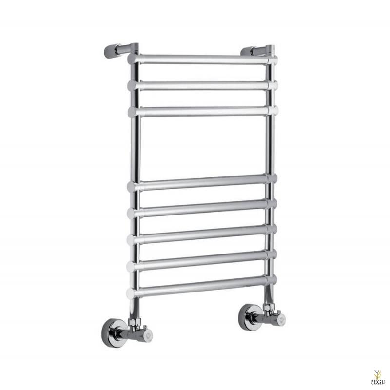 Полотенцесушитель лестница водяной Margaroli Sole 468/8 хром латунь 760x500 mm