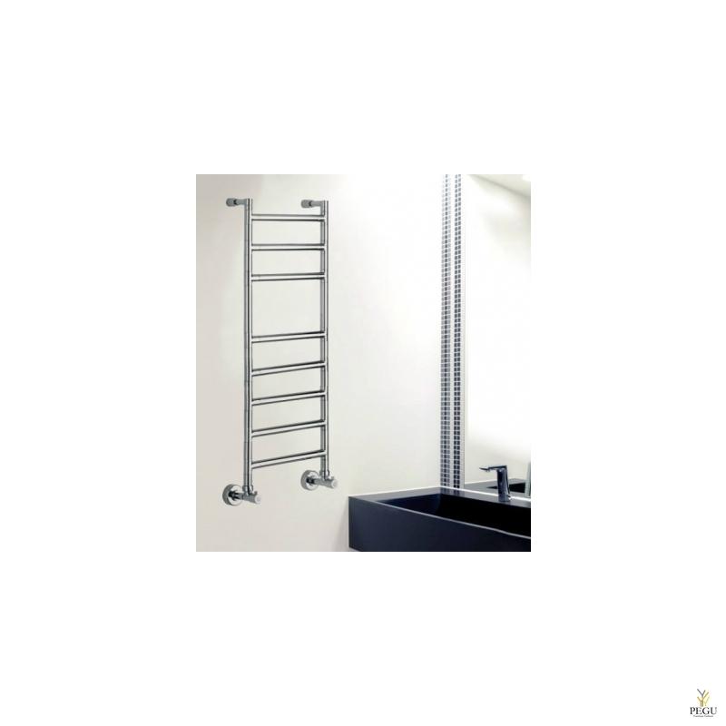Полотенцесушитель лестница водяной Margaroli SERENO 484/8/S хром латунь 350x1000 mm
