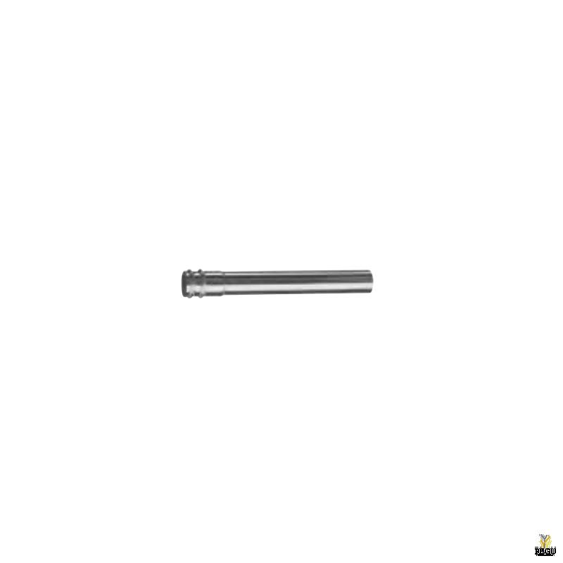Удлиннительная трубка с муфтой 32 mm, L=0,25 m.  хром
