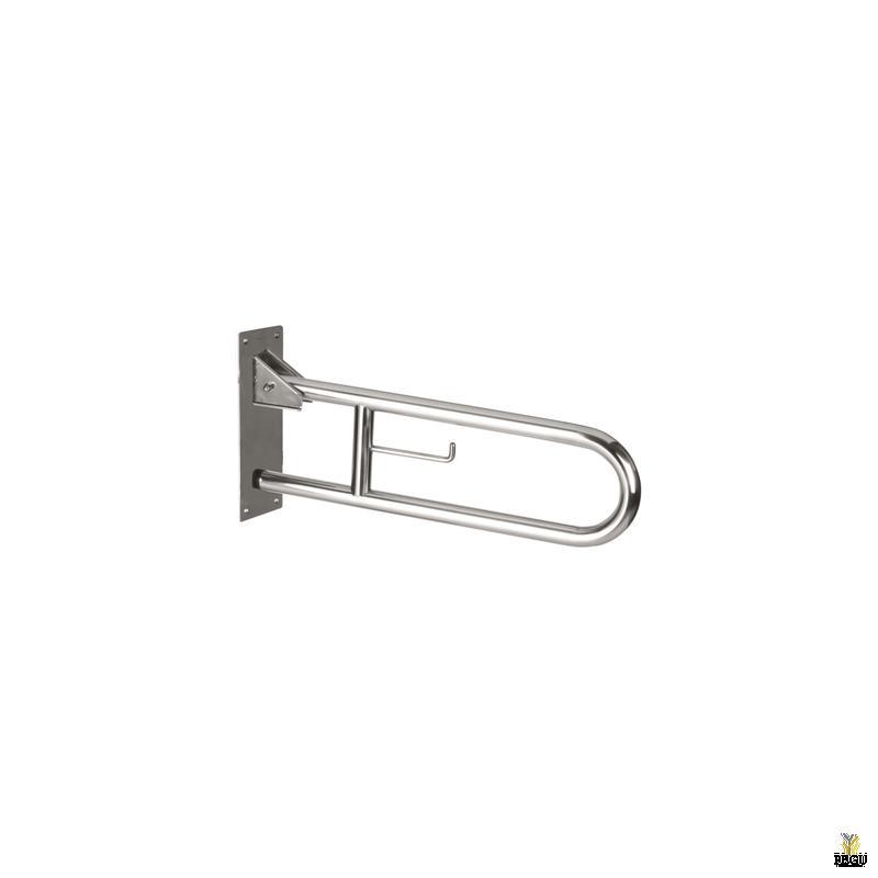 Поручень 738mm поднимающийся, Н/Р сталь, полированный