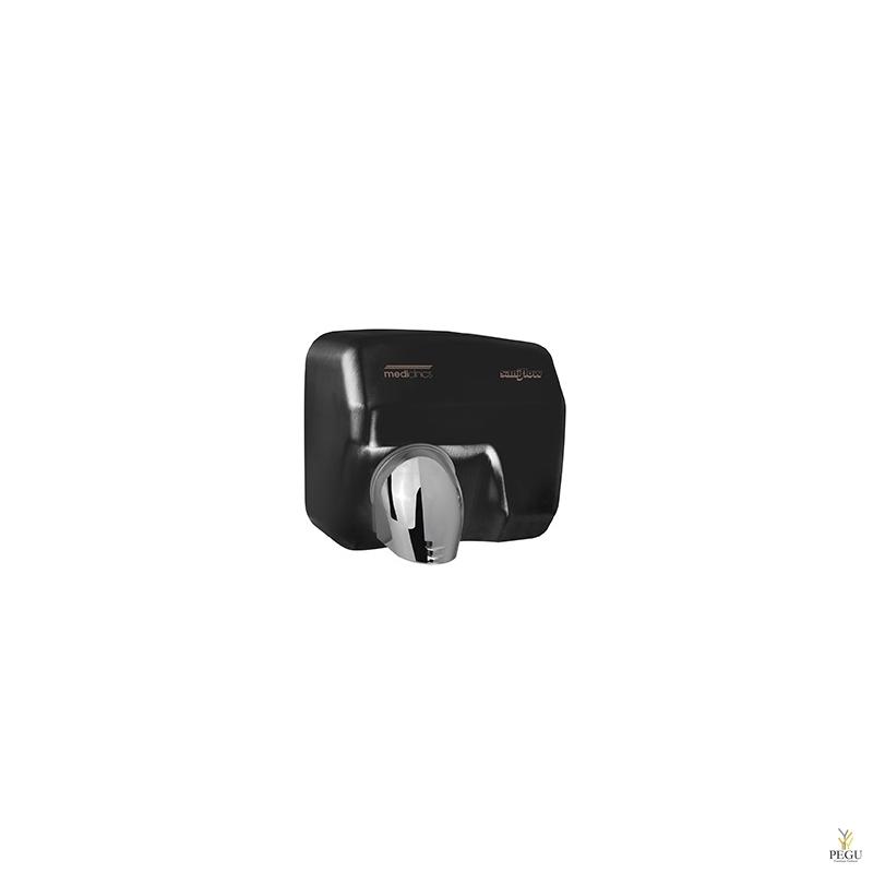 Рукосушитель Saniflow 05 сенсорный, сталь чёрный