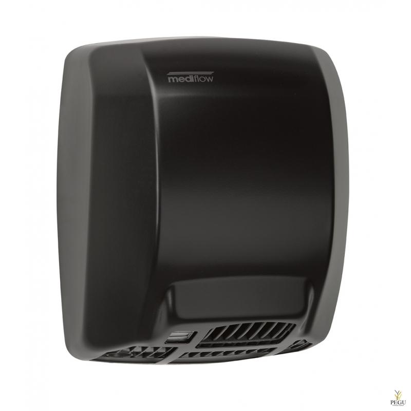 Рукосушитель Mediflow basic Intelligent с сенсором, сталь, чёрный