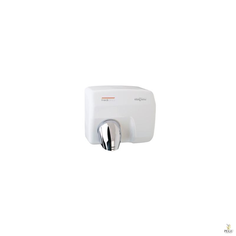 Электрический рукосушитель Mediclinics Saniflow , сенсор, сталь, белый
