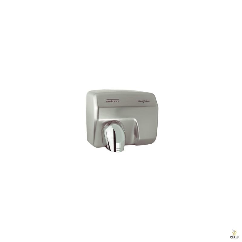 Электрический рукосушитель Mediclinics Saniflow , сенсор, Н/Р сталь, матовый