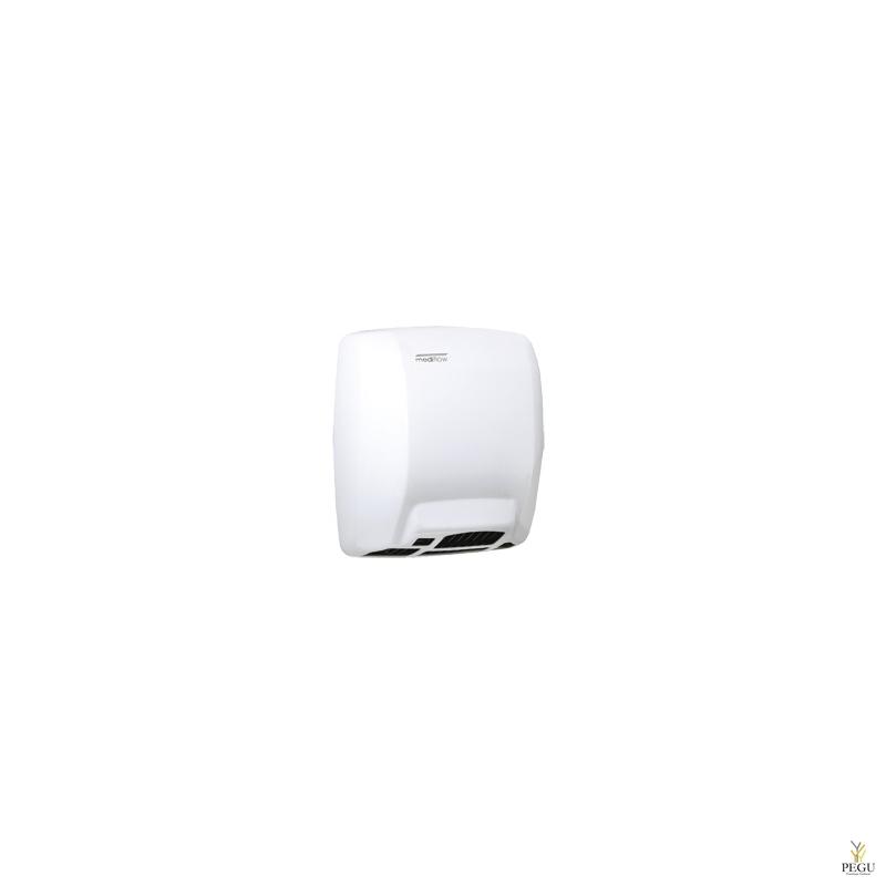 Рукосушитель Mediflow basic с сенсором, сталь, белый