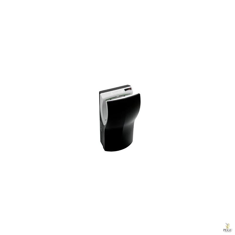 Электрический рукосушитель Mediclinics Dualflow PLUS HEPA filter+ionizer, сенсор, чёрный ABS