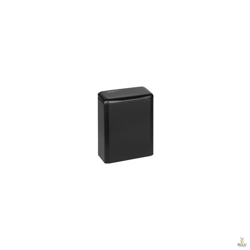 Гигиеническая урна 6L, сталь, чёрная