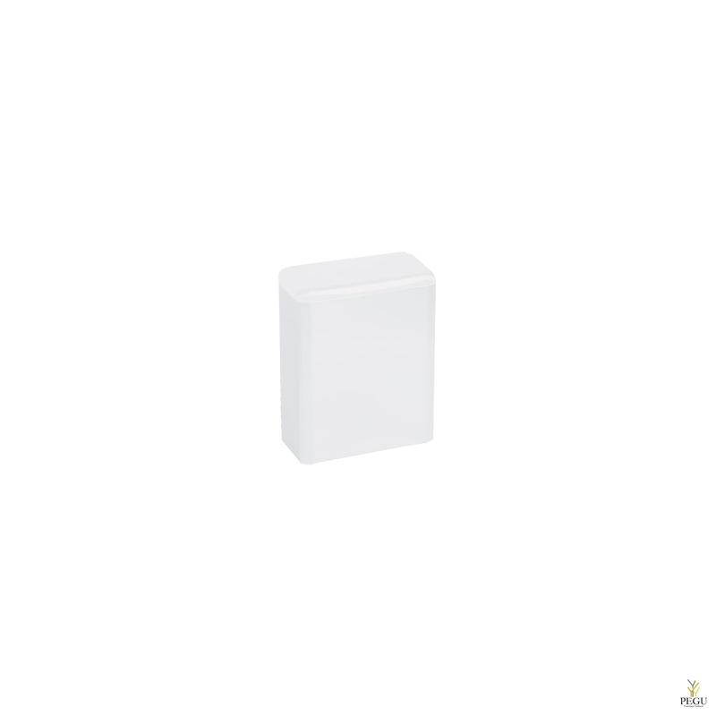 Гигиеническая урна 6L, сталь, белая