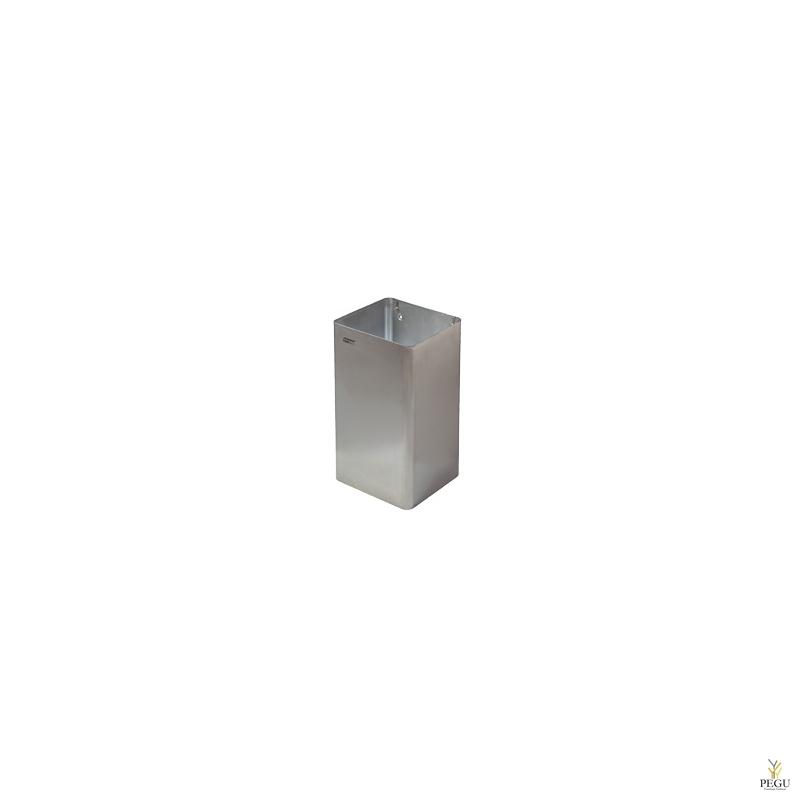 Мусорница 65L, Н/Р сталь, матовая