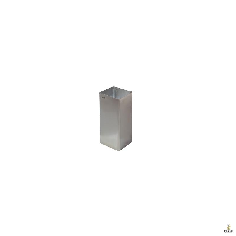 Мусорница 80L, Н/Р сталь, матовая