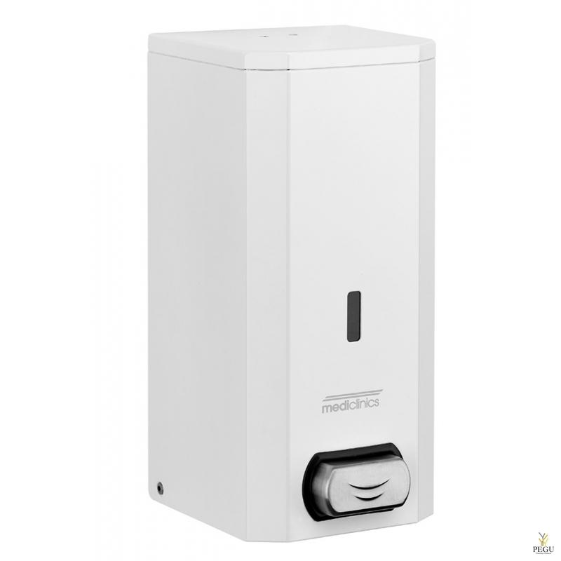 Дозатор для мыла Н/Р сталь белый 1,5L