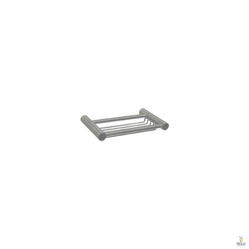 Medinox полочка для шампуня  Н/Р сталь, матовая