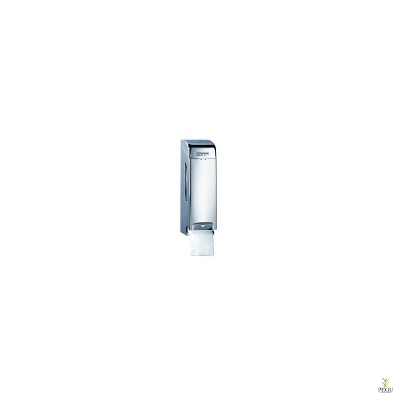 Держатель для туалетной бумаги 3  рулона, Н/Р сталь, матовый