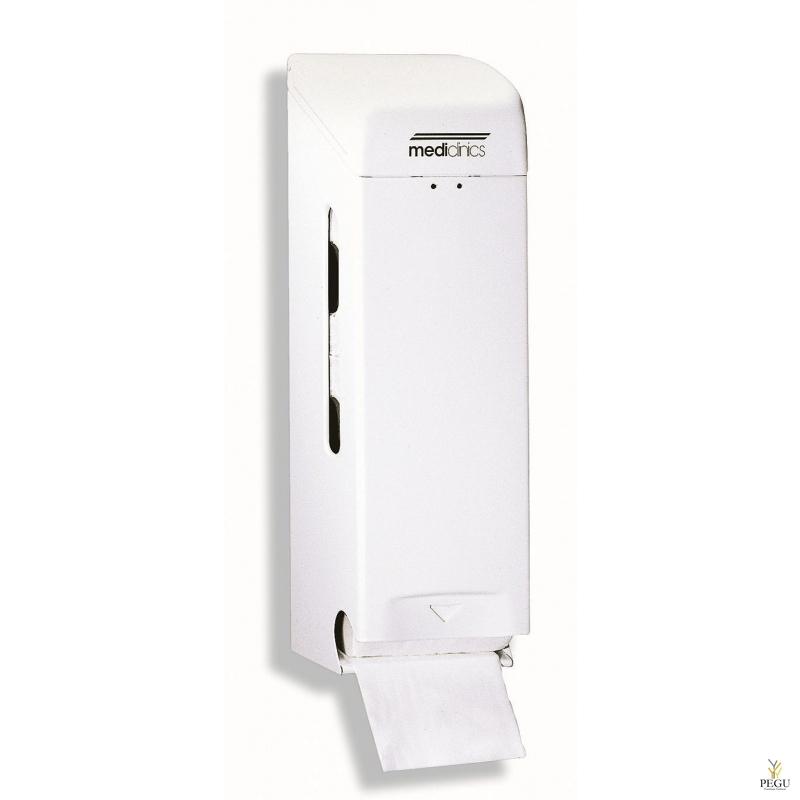 Держатель для туалетной бумаги 3  рулона, сталь, белый