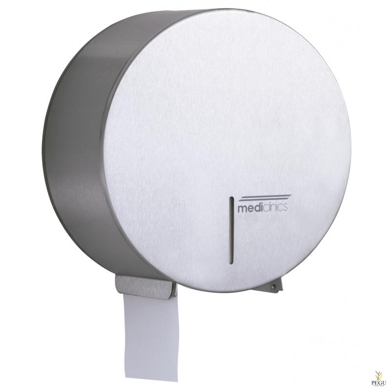 Держатель для туалетной бумаги, средний, Н/Р сталь, матовый
