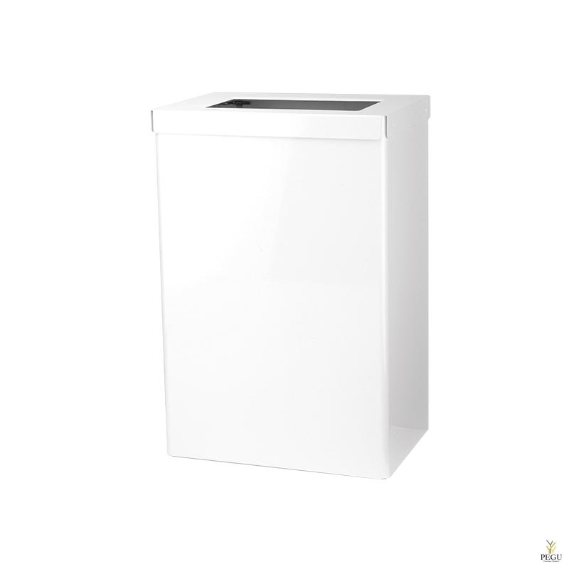 Ophardt открытая урна для мусора EBU 50 P 50L  RAL9010 матовый белый