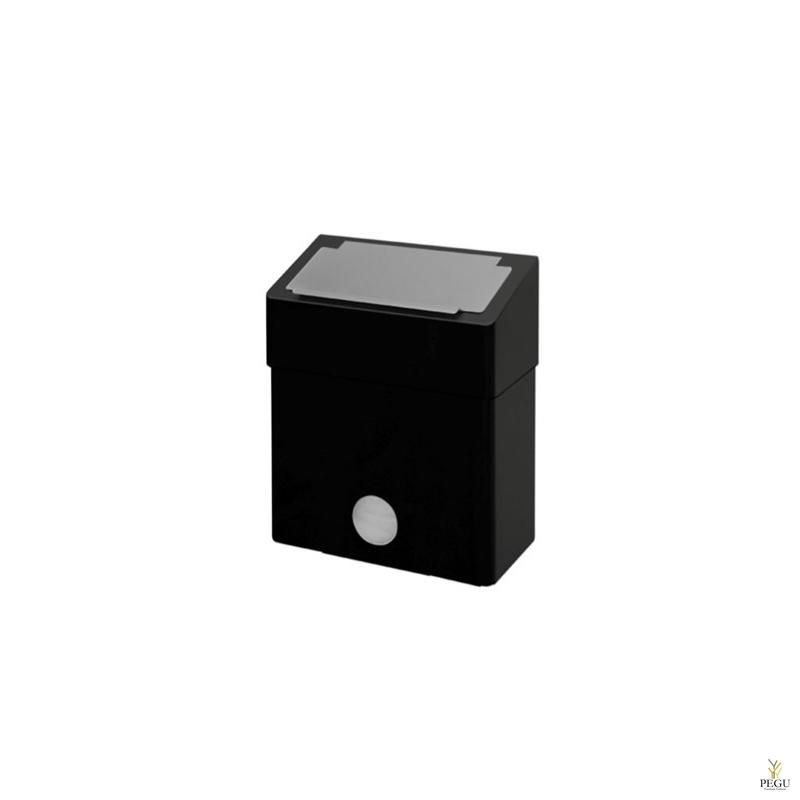 Ophardt prügikast hügieenikotikanduriga HBU 6 P Midnight 6L R/V teras matt must RAL9005