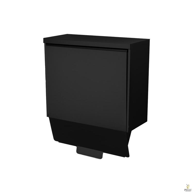 Гигиеническая урна Ingo-slide 15 P Midnight hands-free 15L Н/Р сталь чёрный RAL9005
