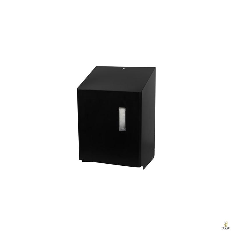 Ophardt бесконтактный дозатор для рулонных бумажных полотенец HTU 1 P Midnight RAL9005 матовый чёрный